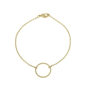 Small circle bracelet Gold plated