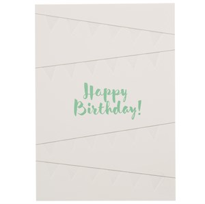 Happy Birthday, Birthday Letterpress Card