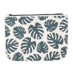 Canvass Pouch-Monstera