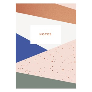 Graphic pattern notebook