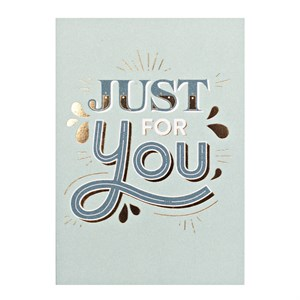 Small Greeting Card-Just For You
