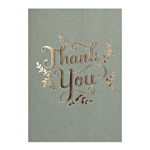Small Greeting Card-Thank You
