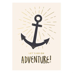 Adventure Anchor Postcard