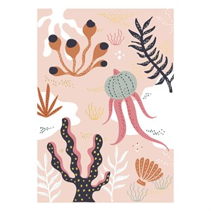 Small Greeting Card-Seaweed