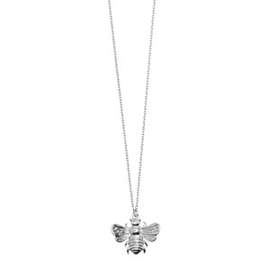 3D Bee Long Necklace