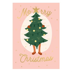 Small Greeting Card-Merry Christmas AW 2019