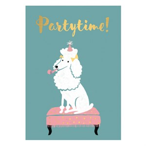 Small Greeting Card-Party Time