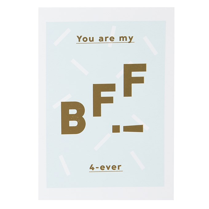 you are my bff