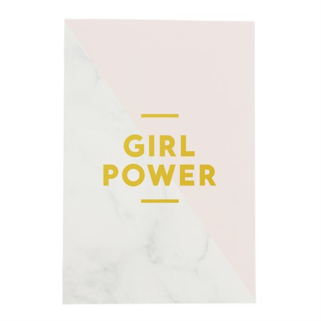 Antekningsbok Girl Power
