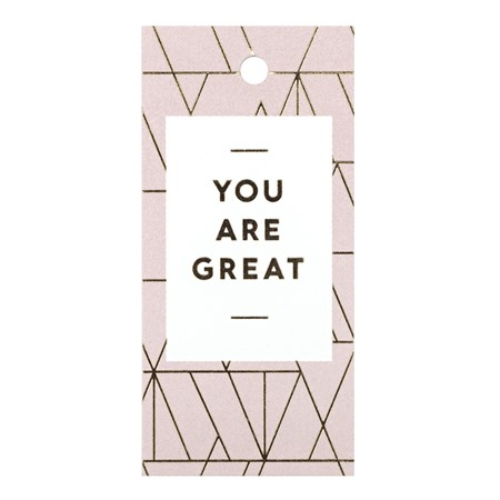 You are Great Gift Tag
