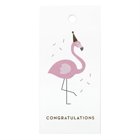 Party like a Flamingo Gift Tag