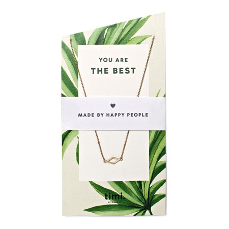 You are the best Diamond Necklace Gold