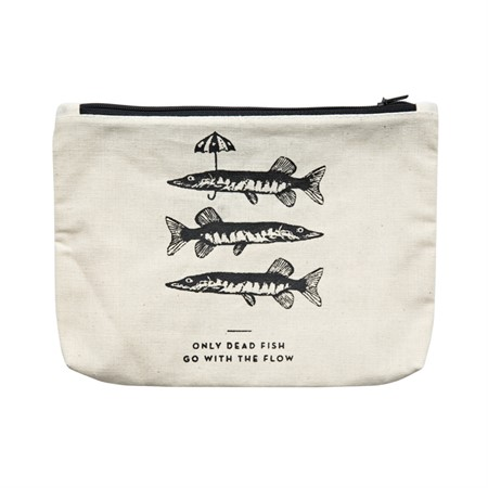 Canvass Pouch Fishes