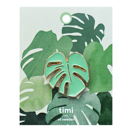 Enamel Pin Monstera