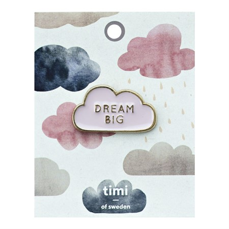 Enamel Pin Dream Big Cloud