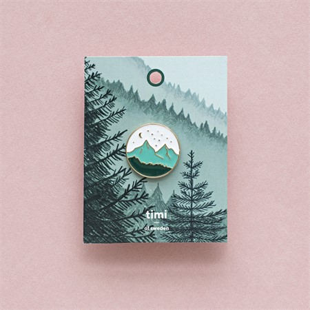 Enamel Pin Mountains